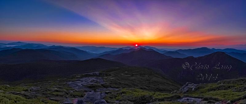 Sunrise on Marcy